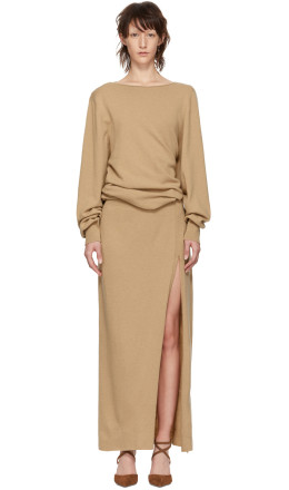 Jacquemus - Beige 'La Robe Jemaa' Dress