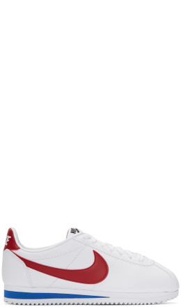 Nike - White Leather Classic Cortez Sneakers
