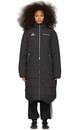 Gosha Rubchinskiy - Black adidas Originals Edition Long Puffer Jacket