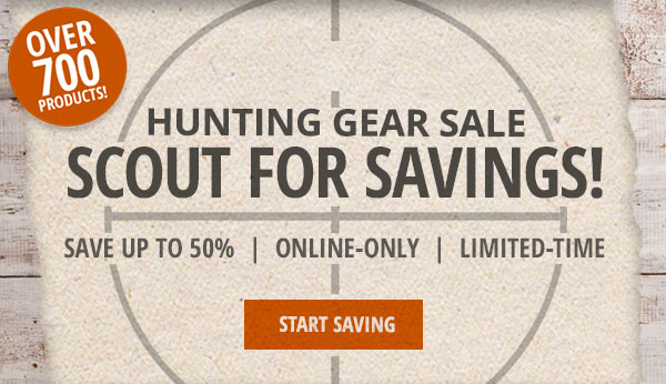 Scout For Savings Hunting Sale
