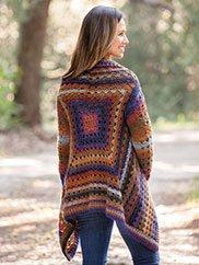 ad6bcdb6774b0 ANNIE S SIGNATURE DESIGNS  Harbor Lights Circle Jacket Crochet Pattern