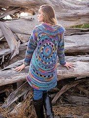 e38c023dea0b7 ANNIE S SIGNATURE DESIGNS  Harbor Lights Circle Jacket Crochet Pattern ...