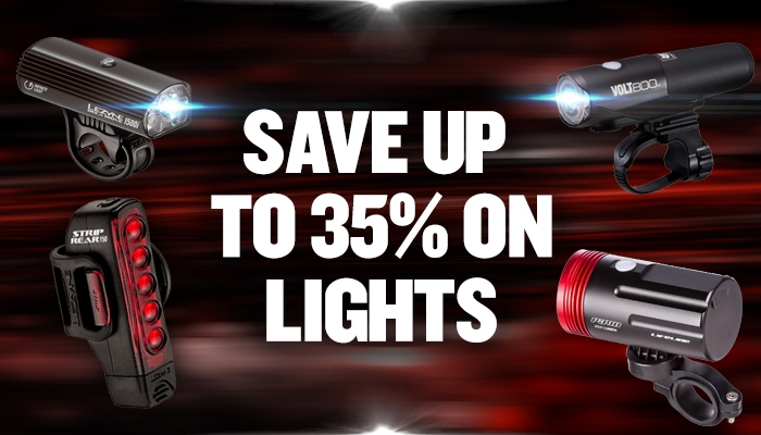 Save up to 35% on lights