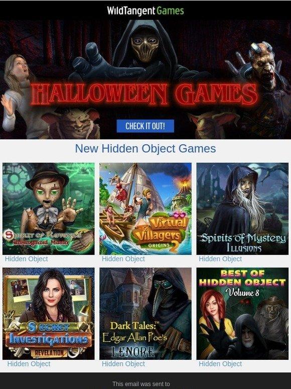WildTangent Games: Play New Hidden Object Games | Milled