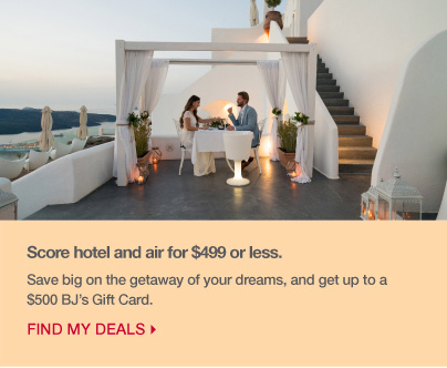 save big on the getaway of your dreams