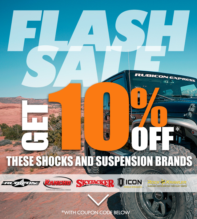 48 Hour Flash Sale 10% Off Jeep Tops