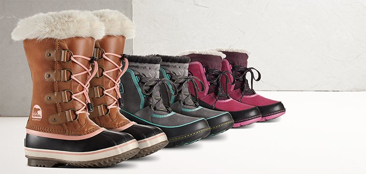 Kids' Boots With SOREL
