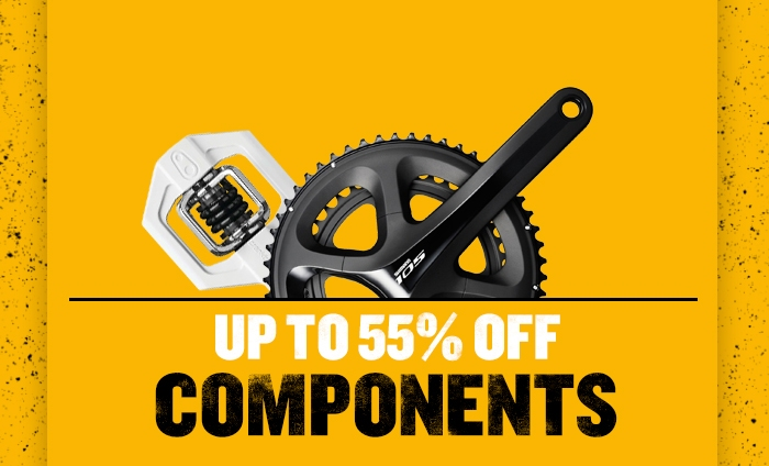 Up to  55% off Components