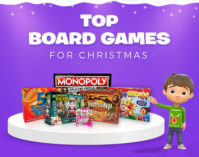 Top Board Games for Christmas