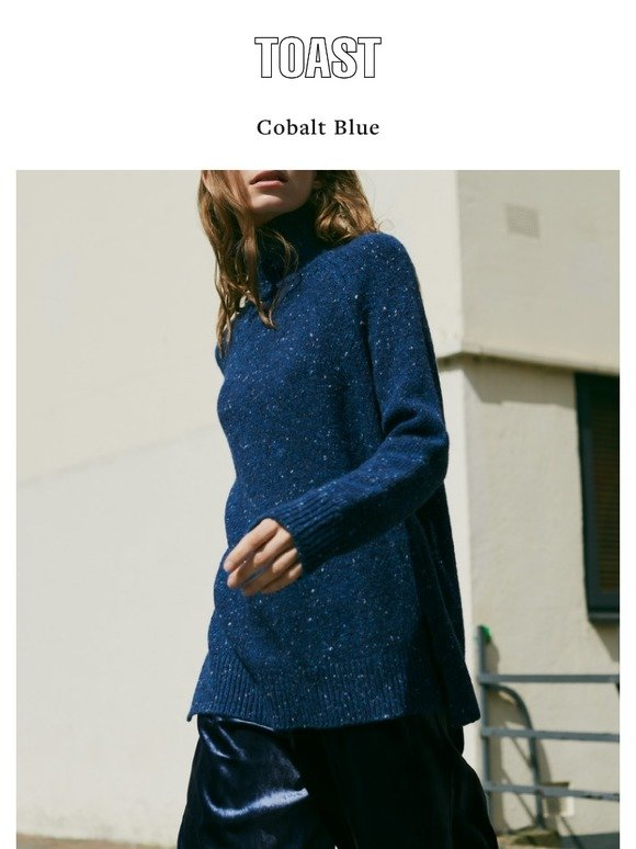 Toast: Cobalt Blue | Milled