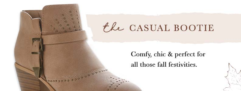 Shop The Casual Bootie
