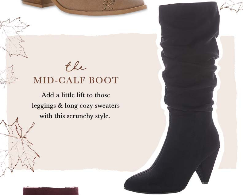Shop The Mid-Calf Boot