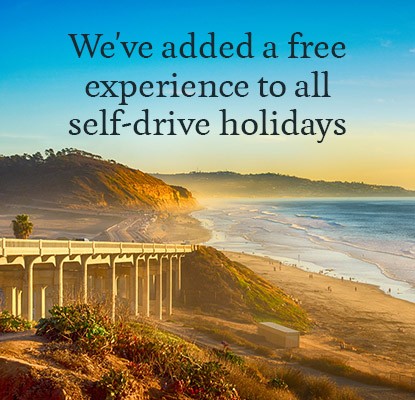 We've added a free experience to all self-drive holidays