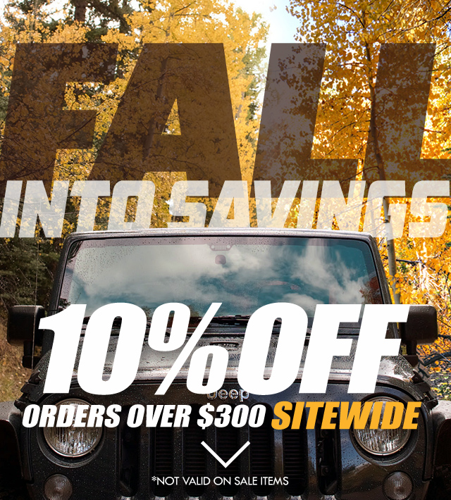 10% Off orders over $300 Sitewide