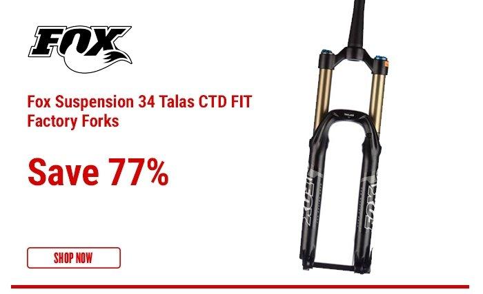 Fox Suspension 34 Talas CTD FIT Factory Forks
