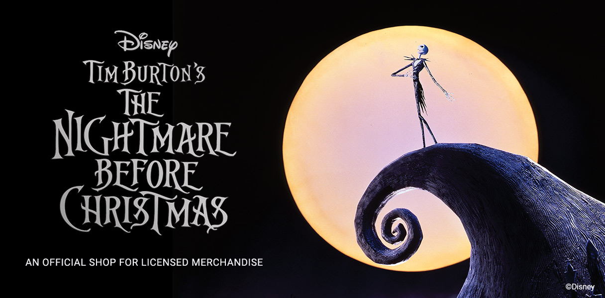 Shop the Nightmare Before Christmas Official Gear!