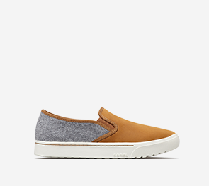 Profile image of a camel brown Campsneak Slip on a white background