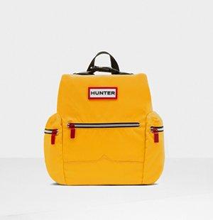 Original Mini Top Clip Backpack - Nylon: Yellow