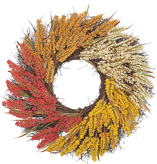 Blooming Autumn Fall Wreaths.