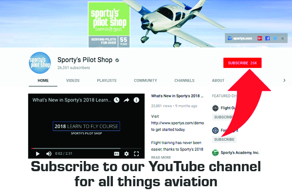 Sportys Pilot Shop YouTube