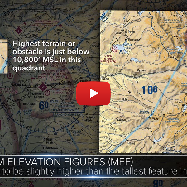 4. Video tip: secrets of VFR sectional charts.