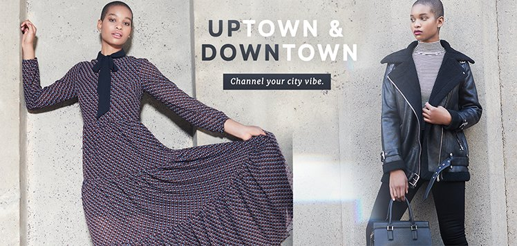 Fashion Forecast: Uptown & Downtown
