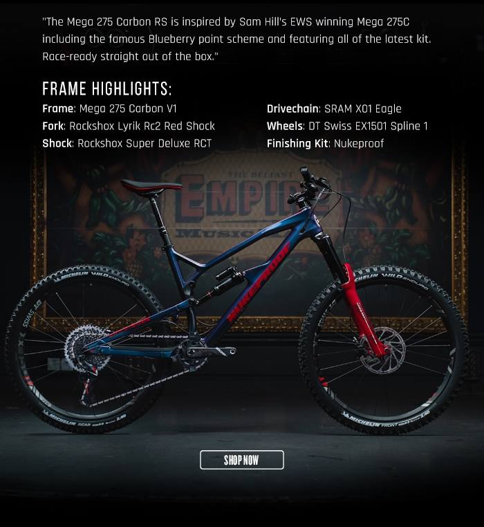Nukeproof Mega 275 Carbon RS Bike XO1 Eagle