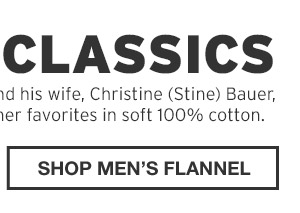 SHOP MEN'S FLANNEL
