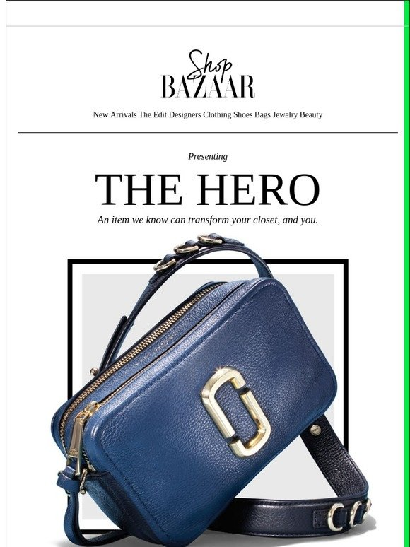 3c7728bb59 Tote Bags   Shop BAZAAR  The Hero  A New Cult Favorite From Marc Jacobs