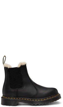Dr. Martens - Black Leonore Boots