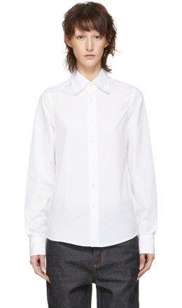 Marni Dance Bunny - White Bunny Patch Shirt
