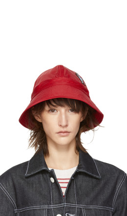 Marni Dance Bunny - Red Bunny Patch Bucket Hat