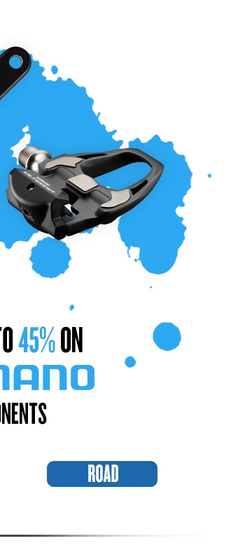Save up to 45% on Shimano Components - Shop ROAD >