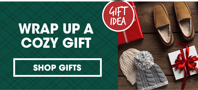 Wrap Up A Cozy Gift   SHOP GIFTS