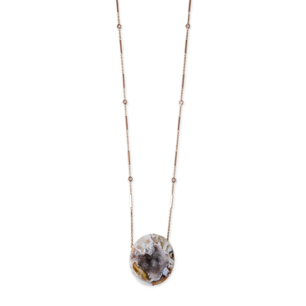 Image of GEODE NECKLACE