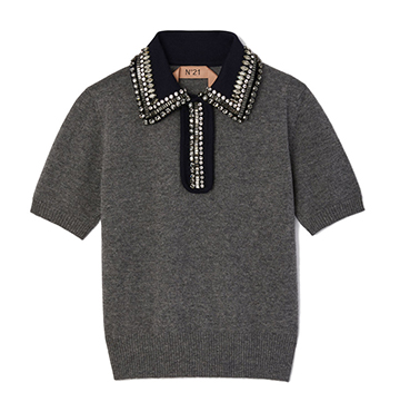 No. 21 Collared Sweater $1,098