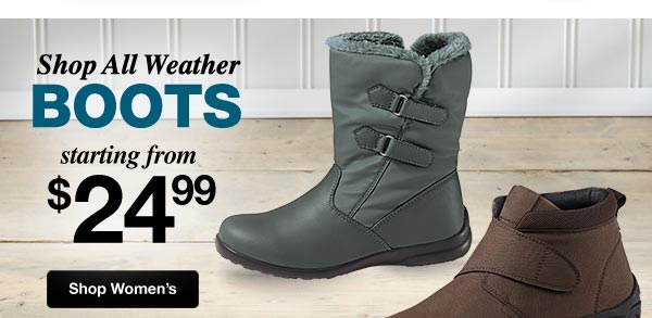 Shop All Weather Boots for Women!
