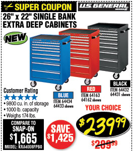 Harbor Freight: Lower Than Discount   Milled