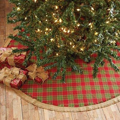 Seasonal Holiday Robert Red Tree Skirt