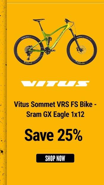 Vitus Sommet VRS FS Bike - Sram GX Eagle 1x12