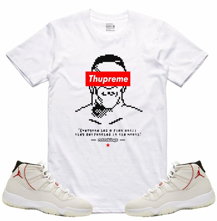 677f01300f3e73 SneakerOutfits  Air Jordan XI  Platinum collection