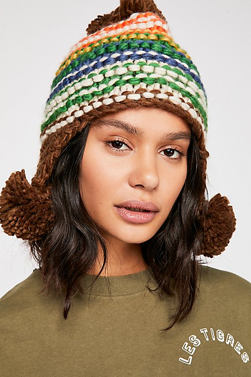 Escapade Stripe Trapper Hat