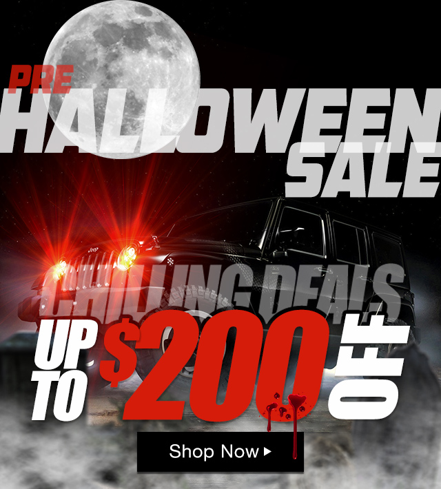 Pre Halloween Sale - Up To $200 OFF