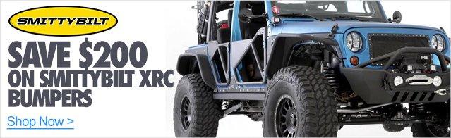 $200 Off Smittybilt XRC Bumpers