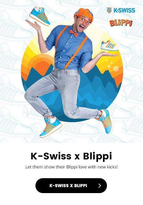 Kids Foot Locker: K-Swiss x Blippi is