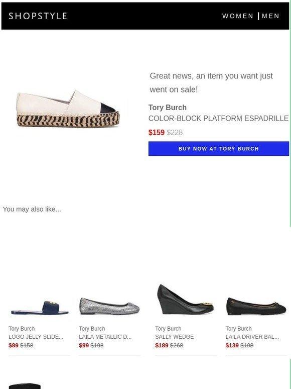 561a297a4 ShopStyle  Sale Alert  Tory Burch