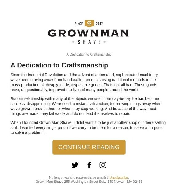 Grown Man Shave: A Dedication to Craftsmanship | Milled