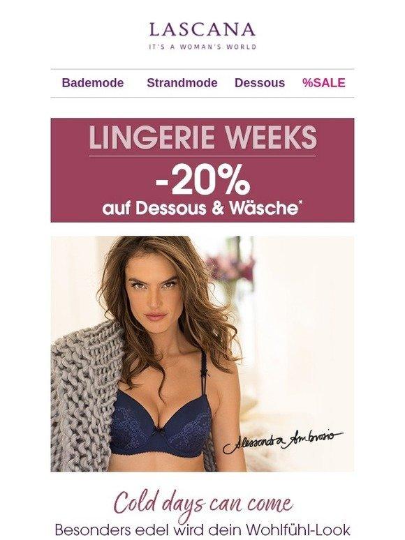 Otto Lingerie Weeks 20 Auf Dessous Wäsche Milled