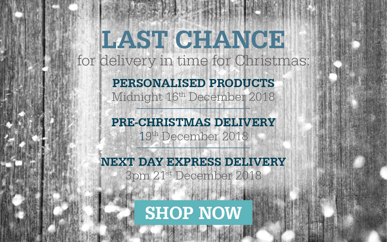 Last Chance - Christmas Delivery Dates