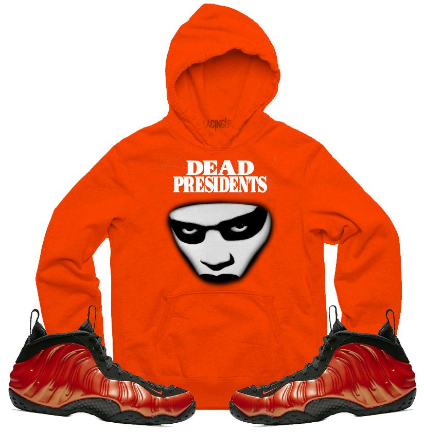 f1cc9809dd0 Nike foamposite habanero dead stare orange hoodie-Lacing Up